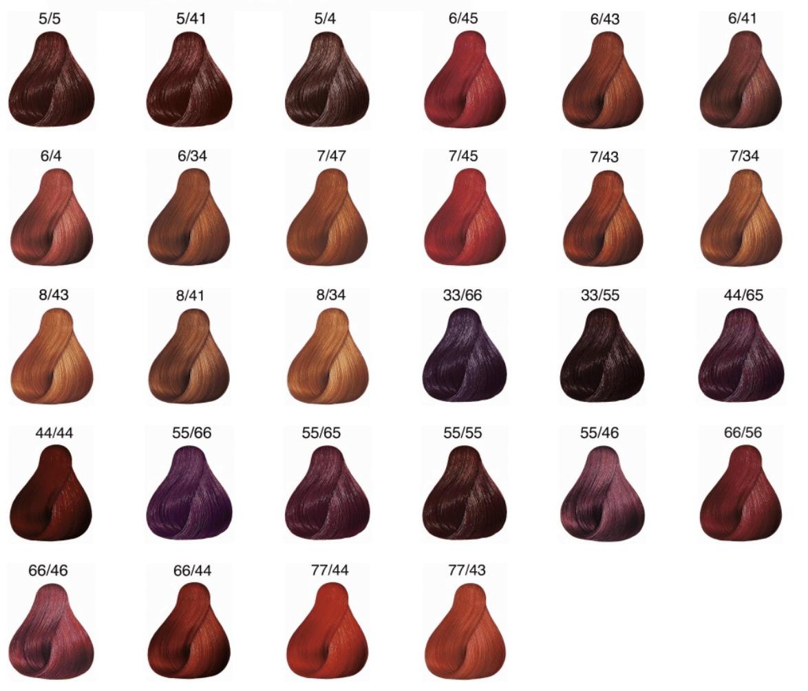 Coloration Oxydation Koleston Perfect Rouge Wella 60ml Easycoiif