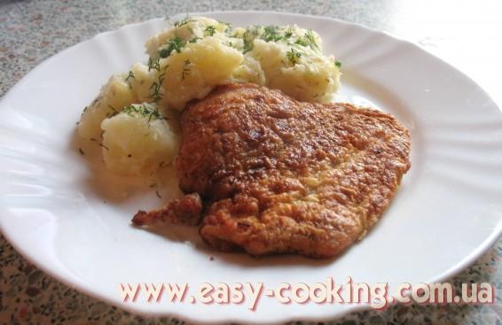 Пошаговый рецепт отбивных из куриного филе