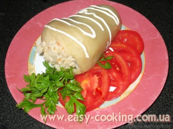 болгарський перець з рисом