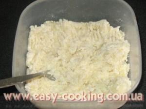 Ліниві вареники з картоплею та сиром