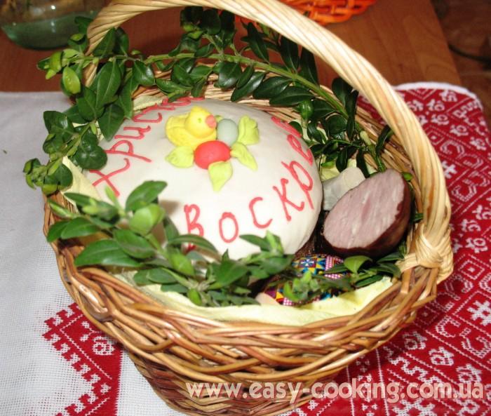 Рецепти страв на Великдень