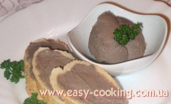 Печеночный паштет, паштет из гусиной печени фуа-гра, рецепт - Кулинарный блог Катрусина кухня