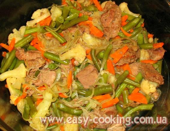 """Кулинарный рецепт """"Телятина с овощами, запеченная в духовке"""" - Кулинарный блог Катрусина кухня"""