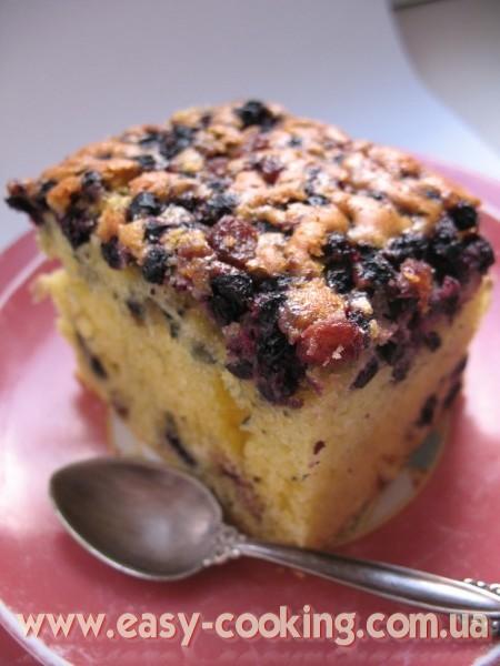 Черничный кекс - Рецепты вкусной выпечки - Кулинарный блог Катрусина кухня