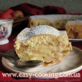 Вкусная шарлотка с яблоками - Рецепт