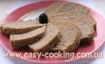 Паштет з мяса та печінки, асорті, великодні страви, різдвяні страви, традиційна українська кухня, галицька кухня