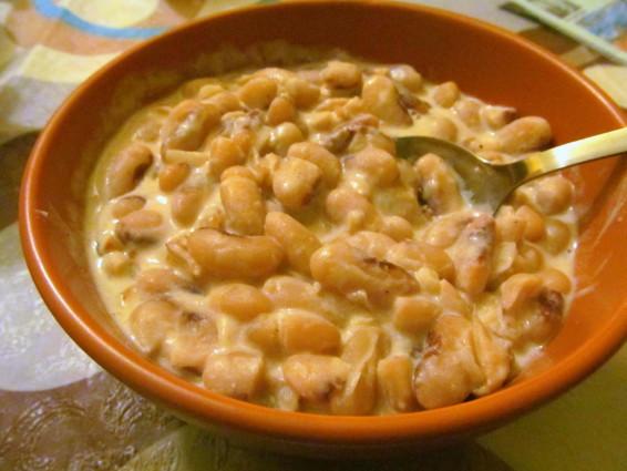 Рецепт фасоли в сметане