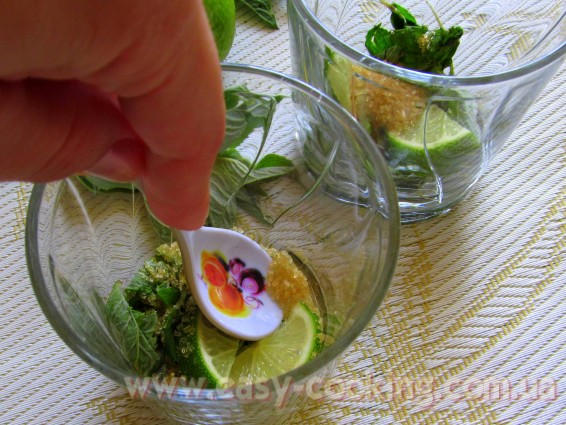 Приготування мохіто