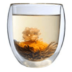 400ml THERMOGLAS + TEEBLUME -