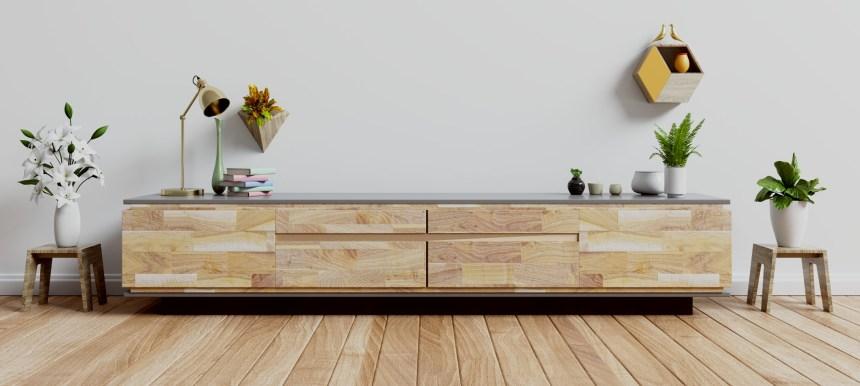 TV möbel, Stauraum Wohnzimmer macht aufräumen leicht