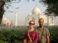 Me ja Taj Mahal