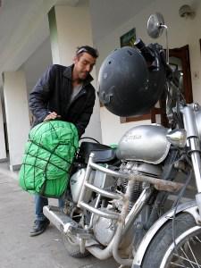 Mark ja Bullet olivat taivaltaneet Intian maanteillä jo 21 000 kilometriä