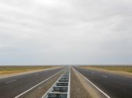 Hyvää tietä Kazakstanissa