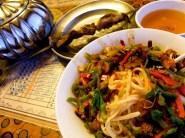 Lagman, Kebap ja tee. Uiguurien kansallisruokaa