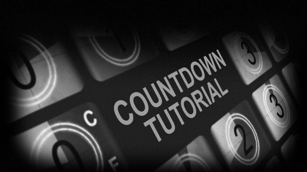 Retro Countdown Animation