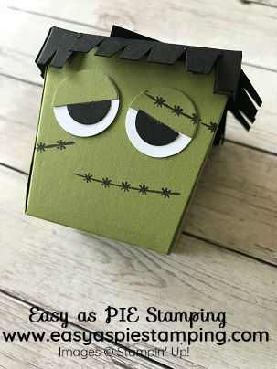 Monster Takeout Treat Box