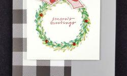 Easy Wishing You Well Christmas Card