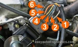 Part 1 How to Test the Cam Sensor 24L Nissan Altima