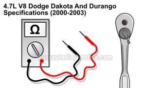 Part 1 Specifications 20002003 47L Dodge Dakota And Durango