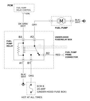 [How Test Fuel Pump Relay On A 1997 Isuzu Hombre