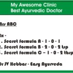 My Ayurvedic Doctor Does Not Reveal Names Of Medicines