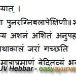 Ayurvedic Healthy Daily Routine Charak Samhita Sutrasthana – Chapter 5