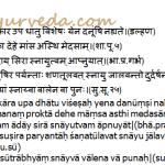 Upadhatu Of Medas: Snayu, Sandhi – Sub Tissues Of Fat