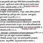 8 Factors Pertaining To Food Intake – Ahara Vidhi Vishesha Ayatana
