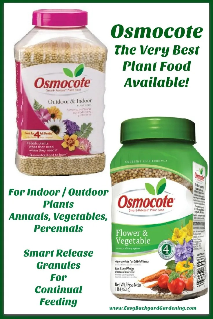 Osmocote Plant Food - Use on Vegetable Plants, Flowers, Indoor or Outdoor Plants
