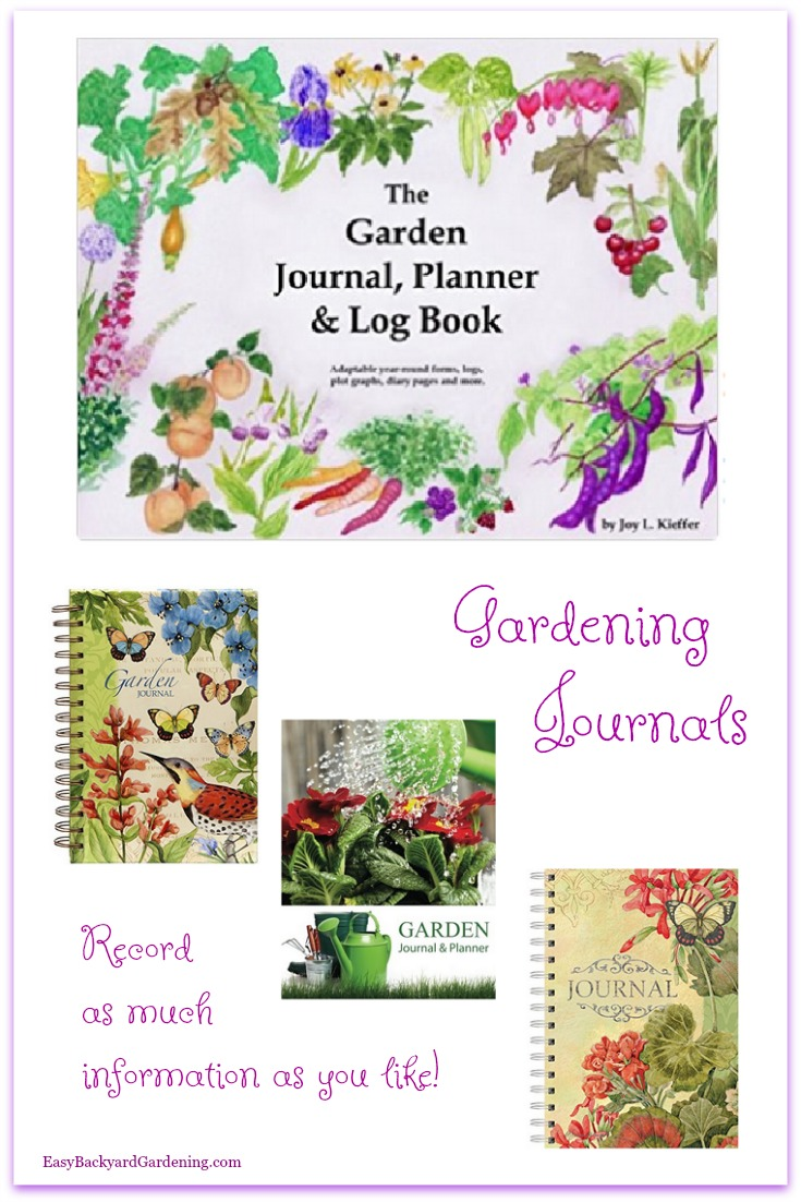 Gardening Journal & Logs