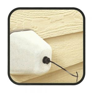 Winterize with Styrofoam Faucet Covers