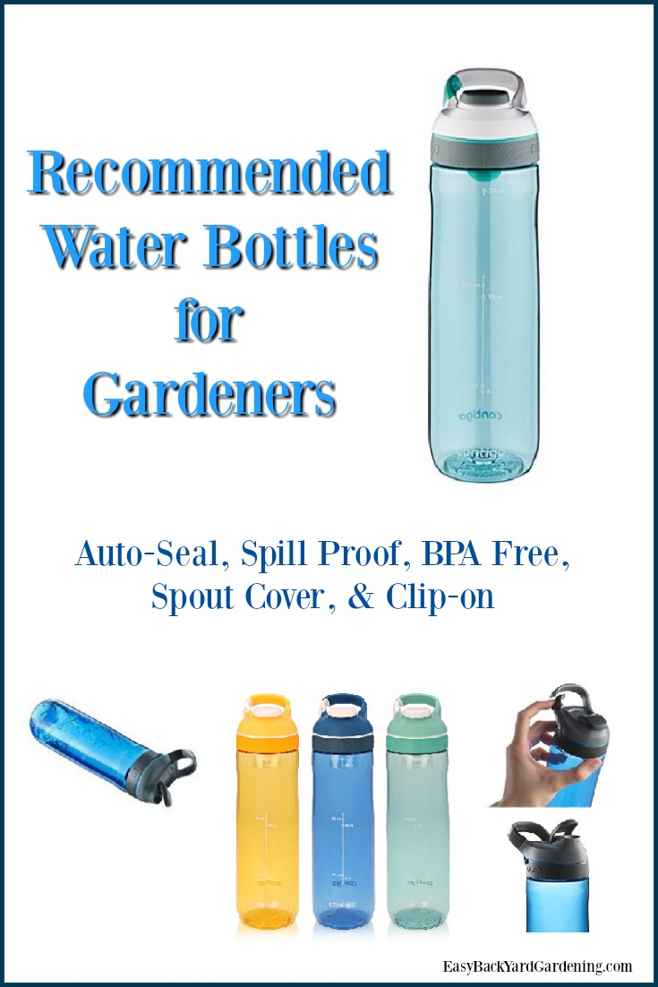 Recommended Water Bottles for Gardeners
