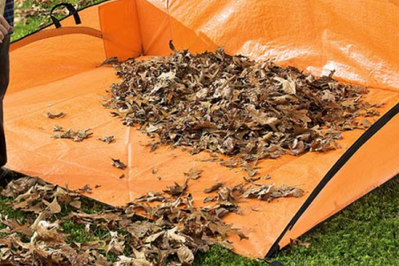 Leaf Hauler – Handy Helper for Fall Leaves