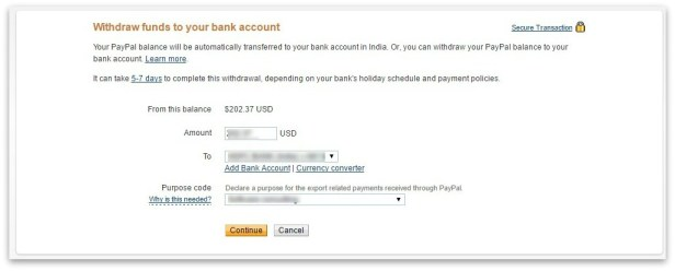 003_Withdraw funds to your bank account – PayPal