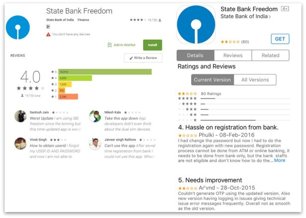 State Bank mobile baking app Android and Apple