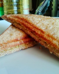 Toasted Sandwiches with Potato filling