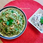 Mint Rice Pudina Rice