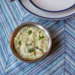 Roasted Aubergine Raita