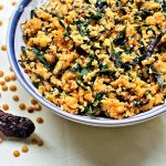 Menthyada Soppina Bele Palya | Fenugreek Leaves and Lentil Dry Curry