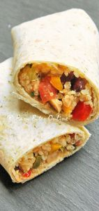 Healthy Quinoa Burritos – Perfect 'On The Go' Lunch