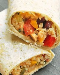 quinoa burritos lunch on the go
