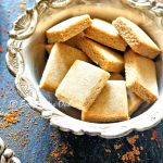 Vegan Gur Pare (Crunchy Sweet Traditional Crackers – Baked and Deep Fried)