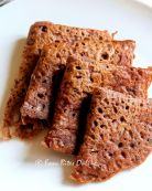 Ragi Red Rice Rava Dosa
