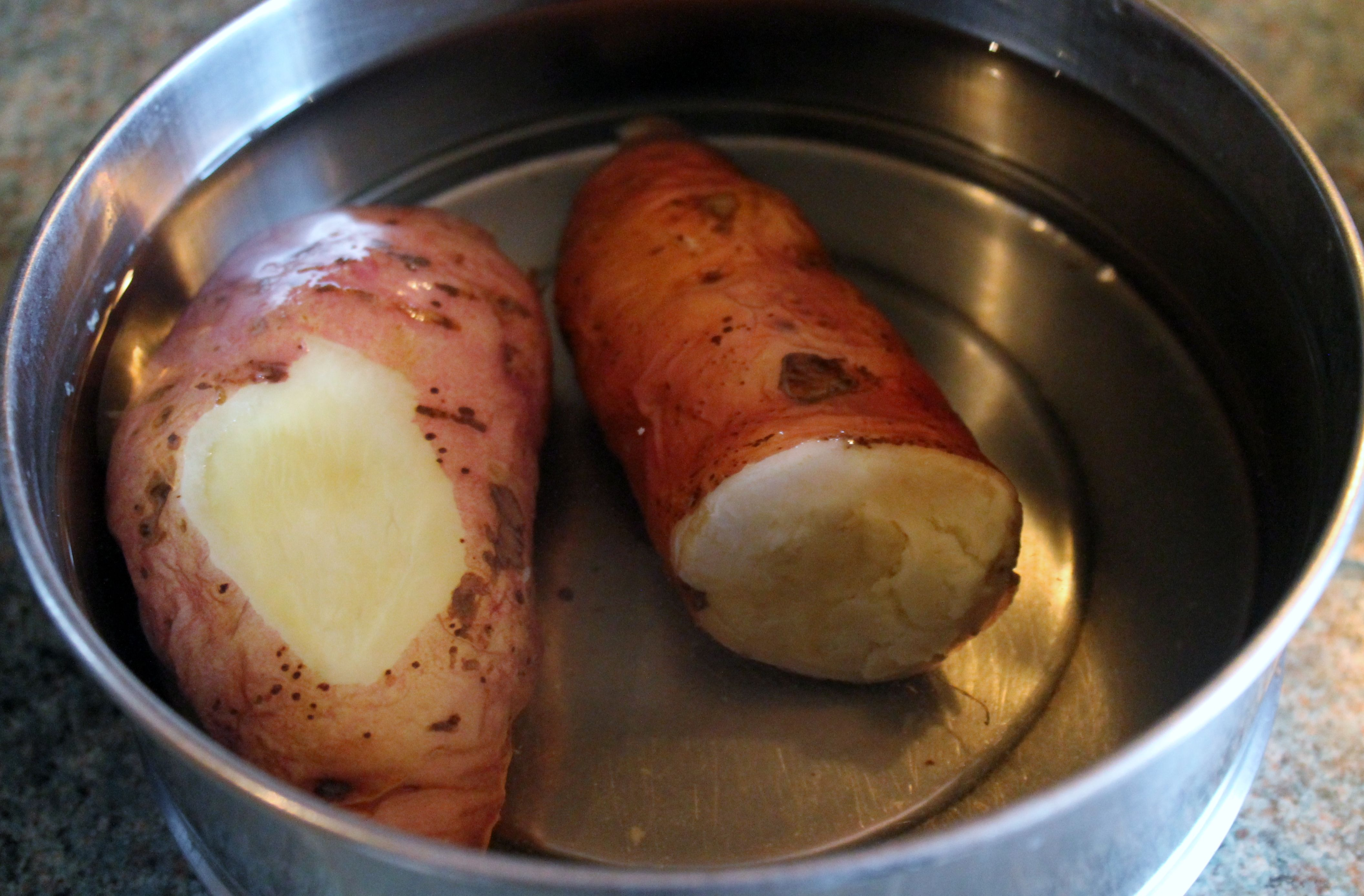 how to cook sweet potato properly