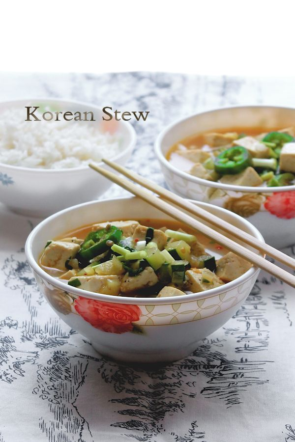 Korean Stew With Tofu