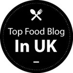 Rated Amongst Top 50 Food Blogs In The Uk