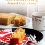 Vegan Orange Cranberry And Almond Polenta Cake