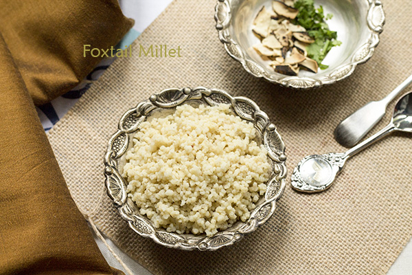 How to cook thinai arisi (foxtail millet)