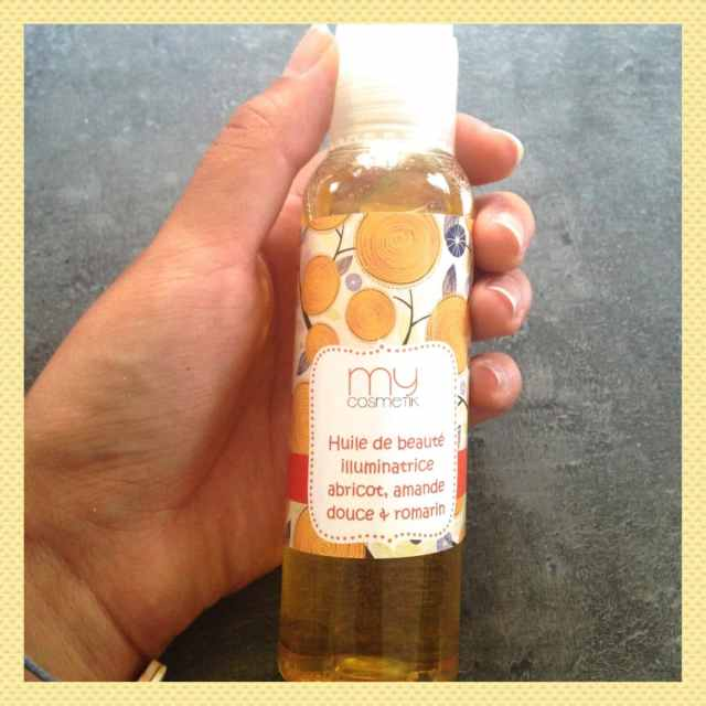 huile illuminatrice mycosmetik