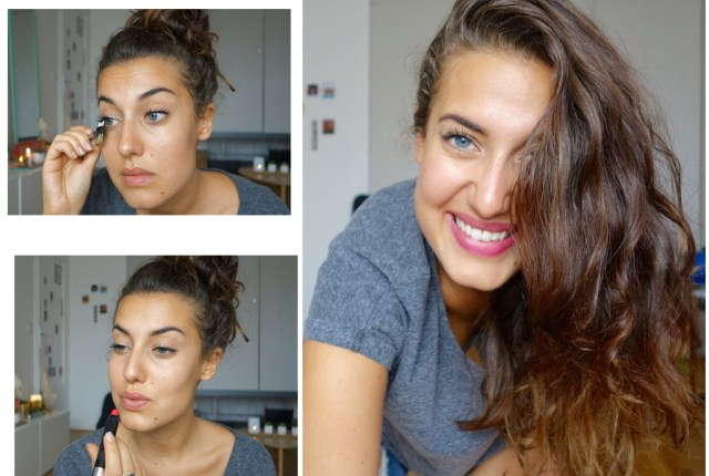 maquillage minimaliste